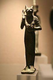 Статуя египетской богини Баст